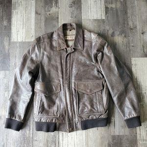Columbia leather jacket